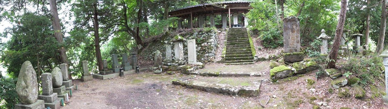 壺渓御廟パノラマ
